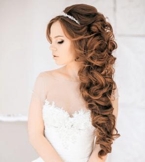 Греческая коса свадебная