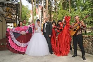 Гадание цыганки молодым на свадьбе