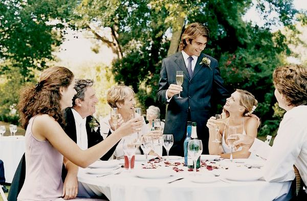 Примерный сценарий свадьбы
