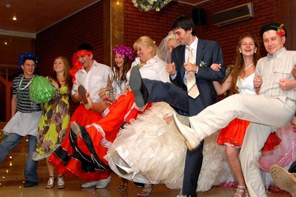 Развлечения на свадьбу без тамады