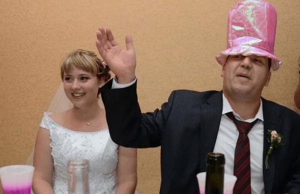 Конкурсы на свадьбу шляпа читающая мысли