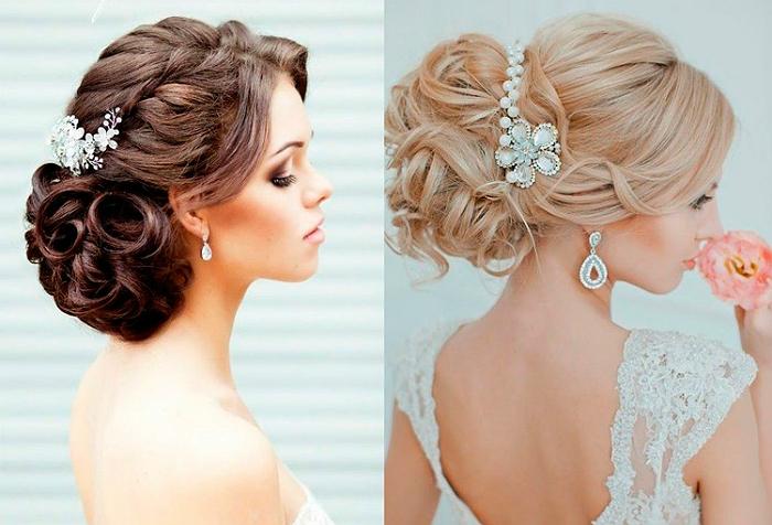 Свадебные украшения для волос своими руками 1