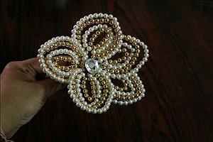 Свадебные украшения для волос своими руками 3