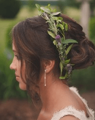 Зеленое свадебное платье: фото наряда, элементов, советы по подбору