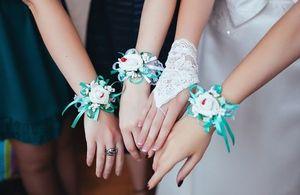 повязки на руку подружкам невесты 4