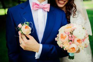 синий костюм на свадьбу для жениха фото 4