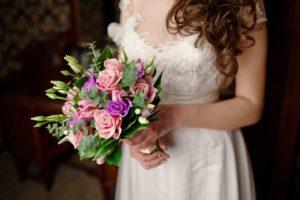 свадебный букет с эвкалиптом 4