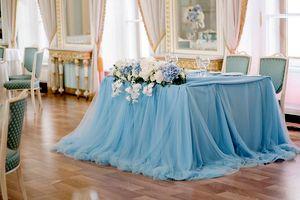 оформление президиума на свадьбу 6