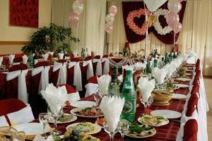 Меню для свадьбы на 50 человек и для банкета