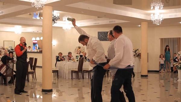 Конкурс «Три богатыря» на свадьбу