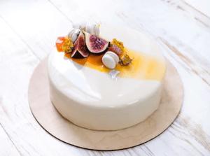 свадебный муссовый торт 1