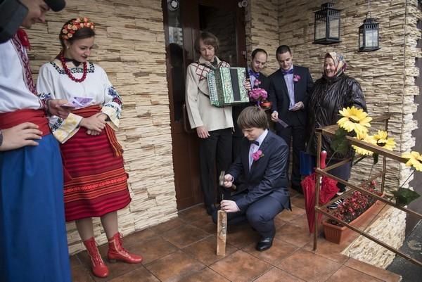 Выкуп невесты в украинском стиле: сценарий конкурсов для жениха