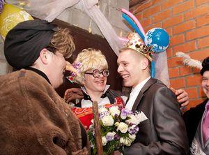 сценарий выкупа невесты с бабой ягой 5