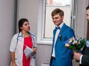 выкуп невесты в стиле больницы 7