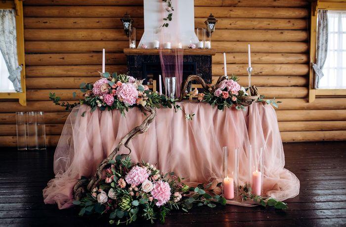 оформление президиума на свадьбу 4