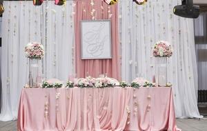 президиум на свадьбу 3