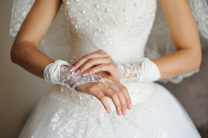 свадебные перчатки своими руками 1