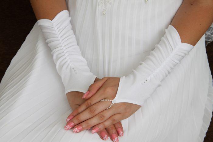 свадебные перчатки своими руками 2