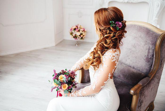 Свадебная прическа греческая коса 3