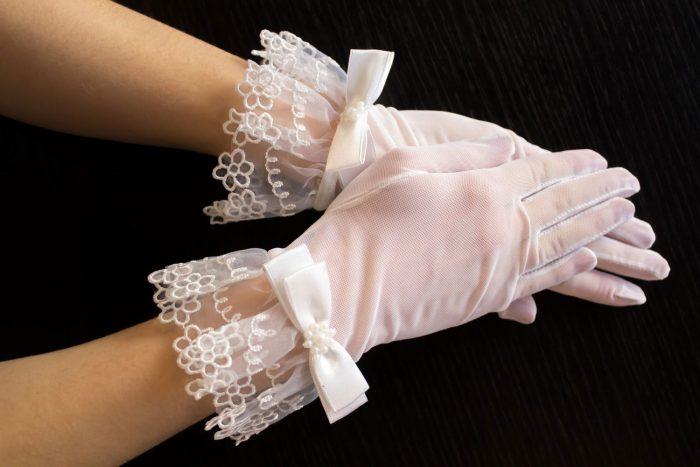 свадебные перчатки своими руками 4
