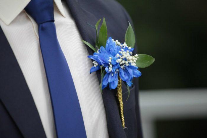Бутоньерки на свадьбу своими руками 7