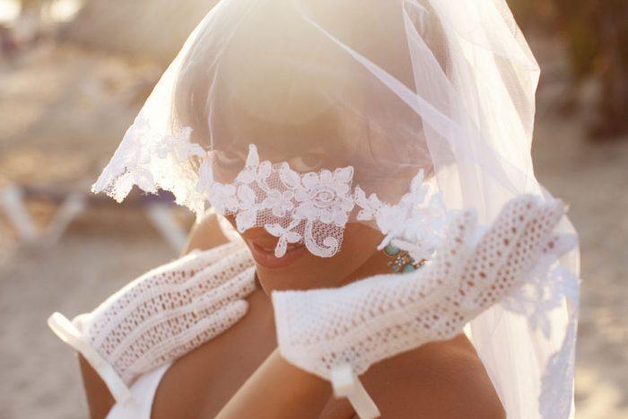 свадебные перчатки своими руками 5