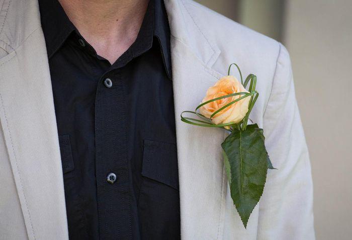 Бутоньерки на свадьбу своими руками 5