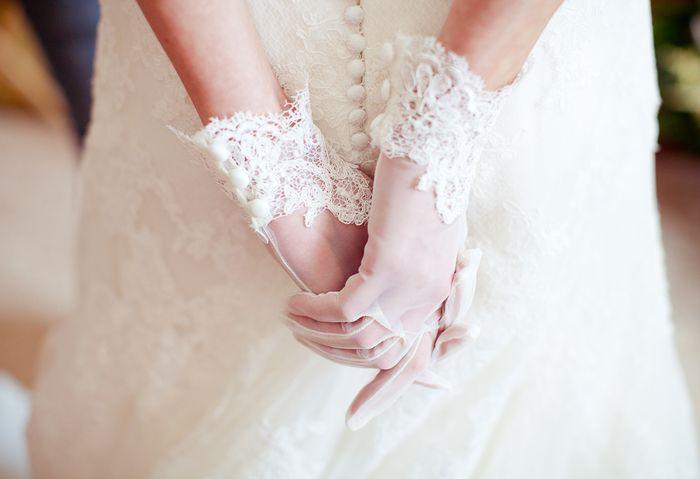 свадебные перчатки своими руками 7